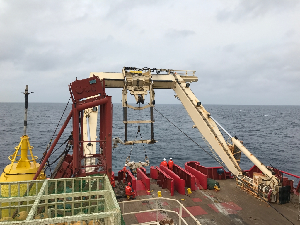 Hengtong Marine Successfully Completd a 5000-Meter-Deep Repeatered Cable Sea Trail