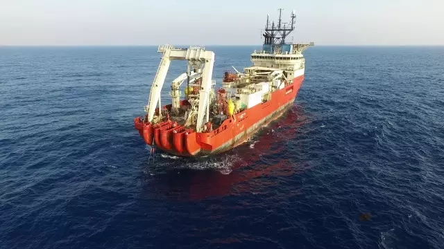 Hengtong Marine Successfully Completd a 500-Meter-Deep Unpeatered Cable Sea Trail